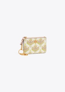 info for 71b73 488ff Tory Burch ROBINSON PRINTED CARD CASE KEY RING
