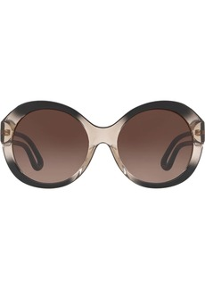 Tory Burch Robinson round sunglasses