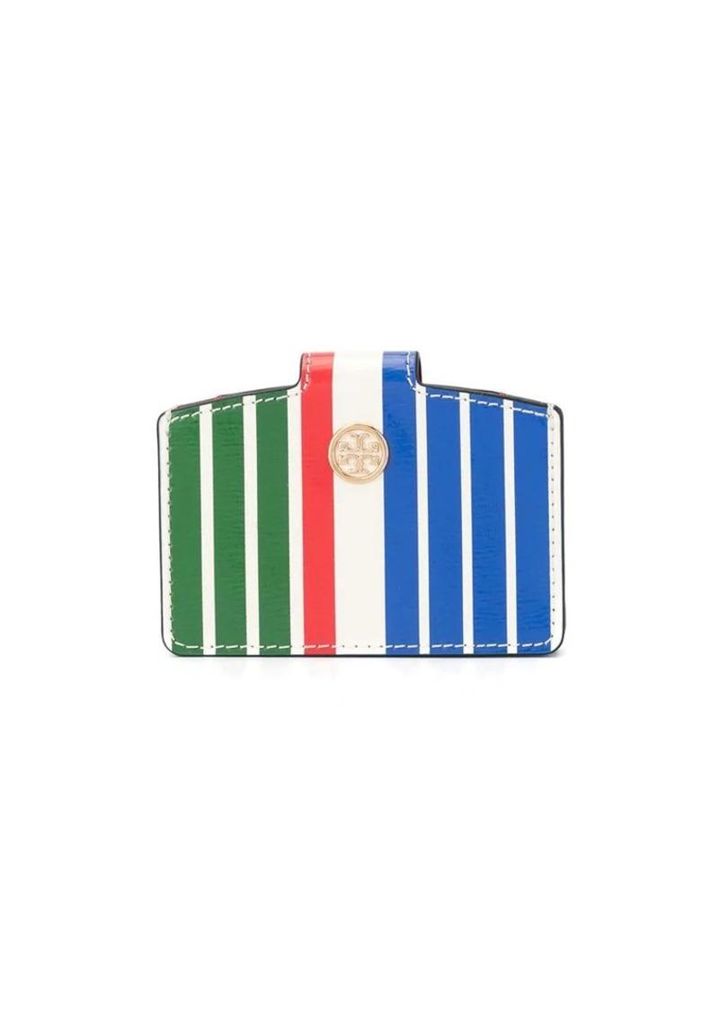Tory Burch Robinson striped wallet