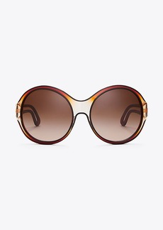 SPLIT-TEMPLE SUNGLASSES