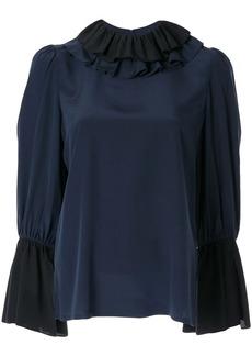 Tory Burch ruffle collar blouse