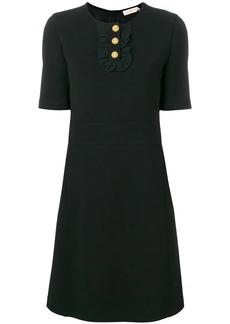Tory Burch ruffle front dress