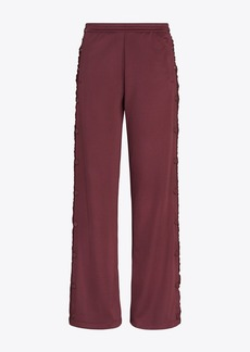 Tory Burch RUFFLE TEAR-AWAY TRACK PANTS