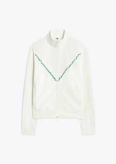 Tory Burch Ruffle Track Jacket