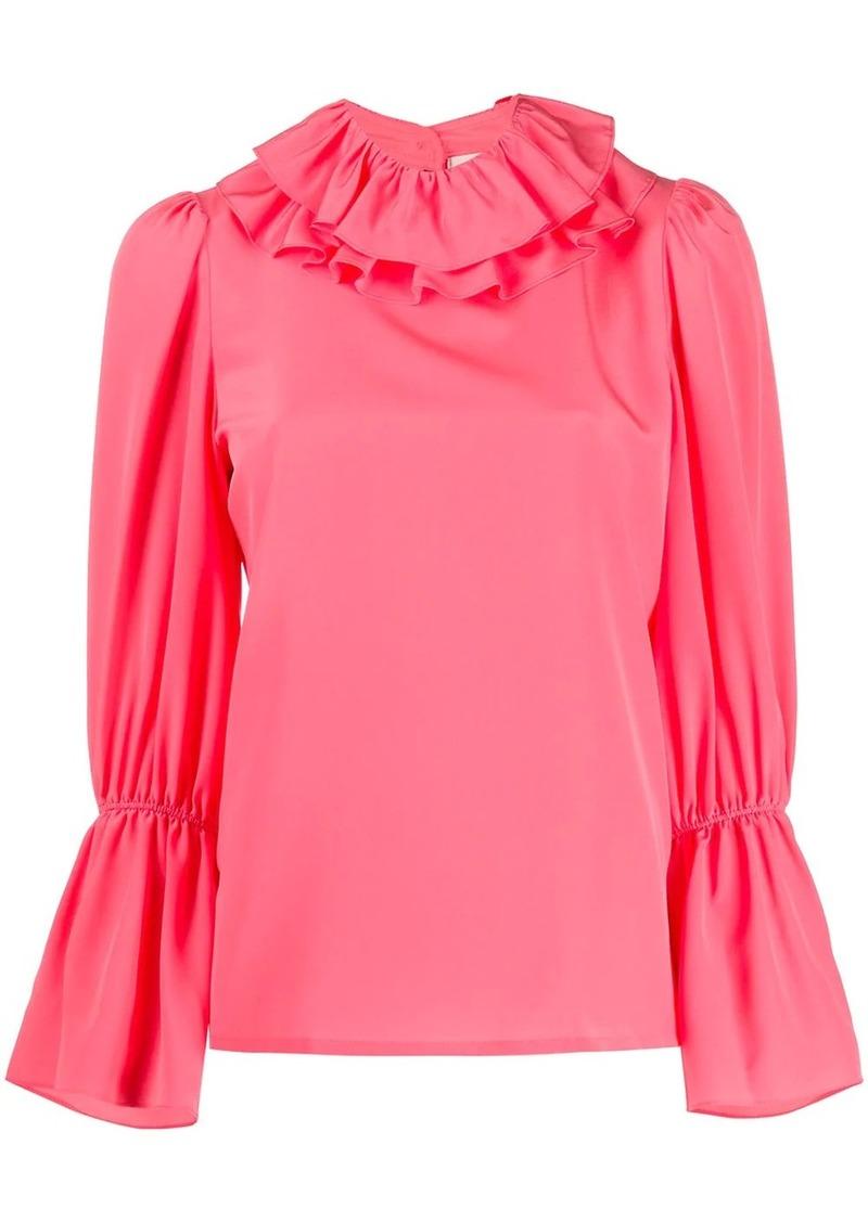Tory Burch ruffle trim blouse