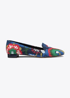 Tory Burch SADIE NEEDLEPOINT LOAFER