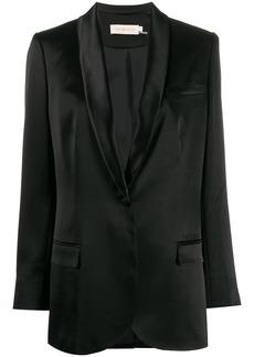 Tory Burch satin lapel blazer
