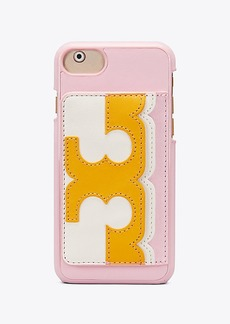 Tory Burch SCALLOP-T POCKET CASE IPHONE 8