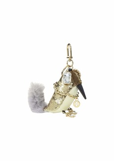Tory Burch Sequin Bird Key Fob