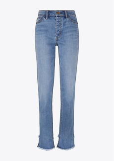 Tory Burch SERENA SLOUCHY STRAIGHT-LEG JEAN