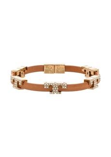 Tory Burch Serif-T crystal-embellished bracelet