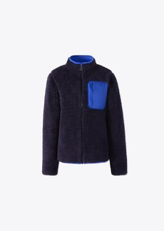 Tory Burch SHERPA FLEECE JACKET