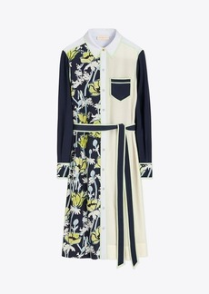 Tory Burch Silk Patchwork Dress