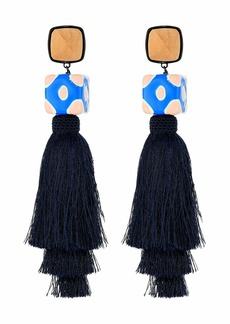 Tory Burch Silk Tassel Earrings