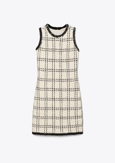 Tory Burch Sleeveless Tweed Dress