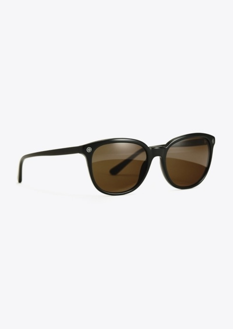 Tory Burch SQUARE ACETATE SUNGLASSES