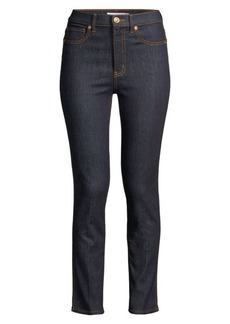 Tory Burch Straight-Leg Jeans