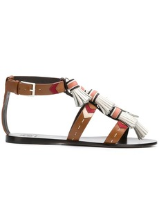 Tory Burch strappy tassel sandals