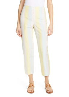 Tory Burch Stripe Crop Pants