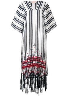 Tory Burch striped kaftan dress