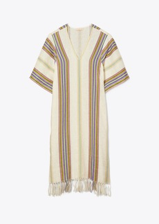 Tory Burch Striped Long Caftan