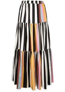 Tory Burch striped peasant skirt