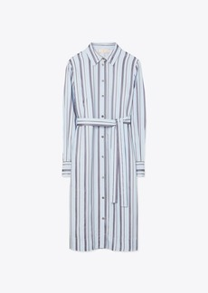 Tory Burch Striped Shirtdress