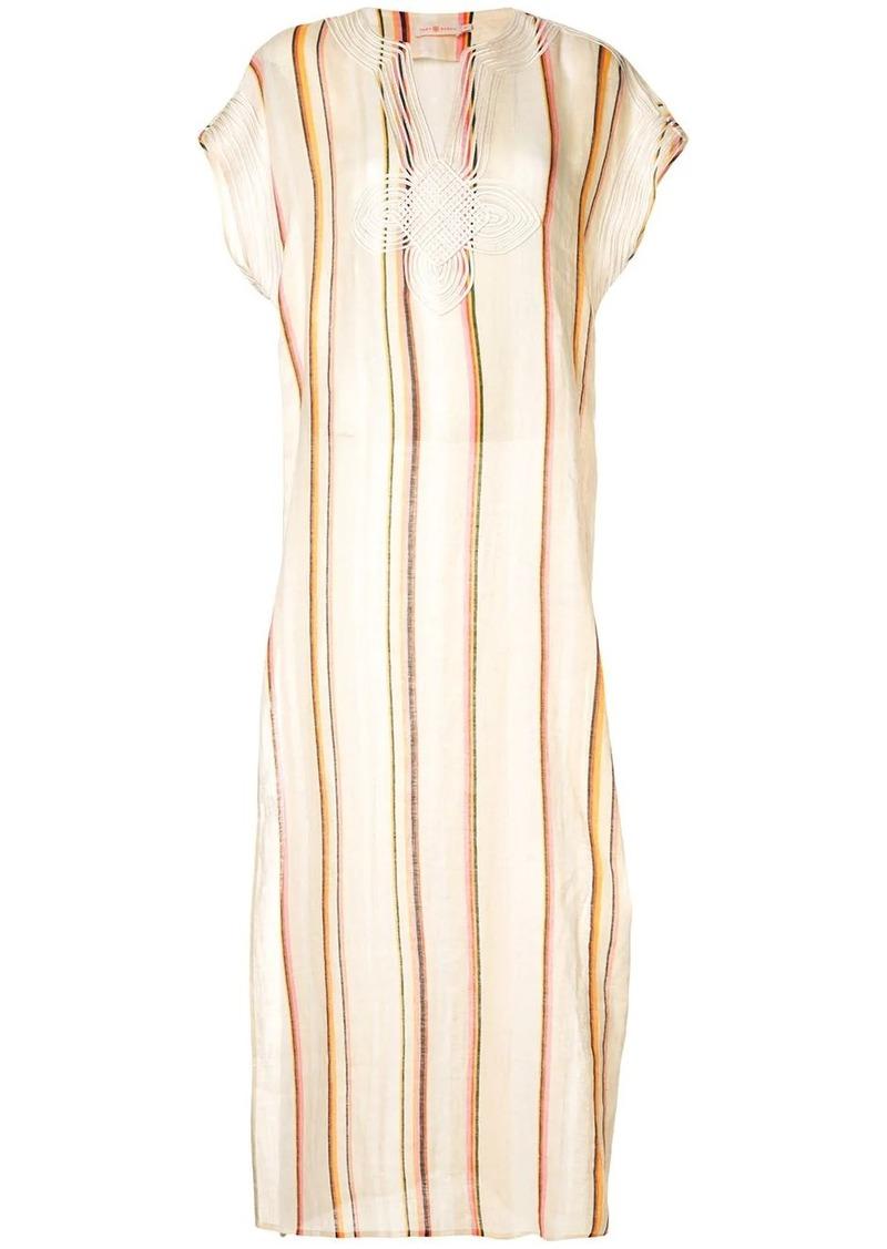 Tory Burch striped tunic dress