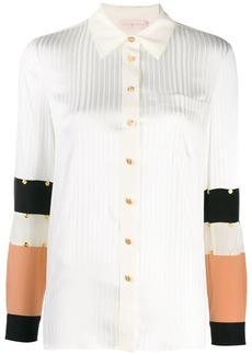 Tory Burch studded patchwork shirt