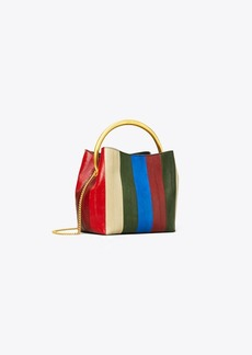 Tory Burch SYDNEY EEL PATCHWORK BUCKET BAG