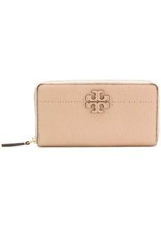 Tory Burch T-logo zip around wallet