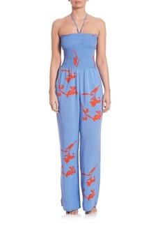 Tory Burch Talisay Cover-Up Jumpsuit