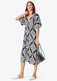 Tory Burch TAPESTRY GEO BEACH DRESS
