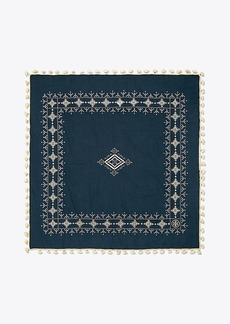 Tory Burch TAPESTRY GEO SQUARE SCARF