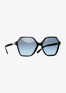 Tory Burch OVERSIZED INLAY SUNGLASSES