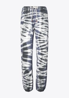 Tory Burch Tie-Dye French Terry Sweatpants