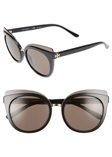Tory Burch 53mm Cat Eye Sunglasses