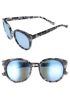 Tory Burch 53mm Polarized Sunglasses