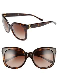 Tory Burch 54mm Oversized Sunglasses