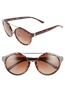 Tory Burch 54mm Polarized Sunglasses