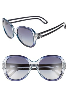 Tory Burch 55mm Gradient Butterfly Sunglasses