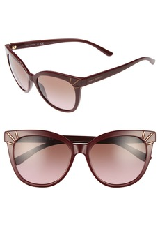 Tory Burch 55mm Gradient Cat Eye