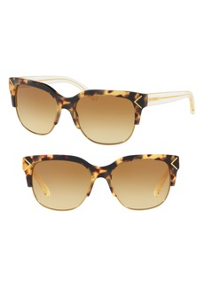 Tory Burch 55mm Gradient Square Sunglasses