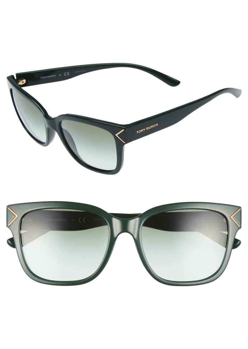 Tory Burch 55mm Gradient Sunglasses