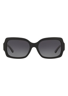 Tory Burch 55mm Polarized Square Sunglasses