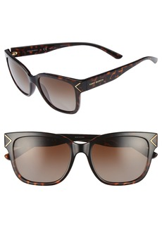 Tory Burch 55mm Polarized Sunglasses