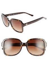 Tory Burch 55mm Square Sunglasses