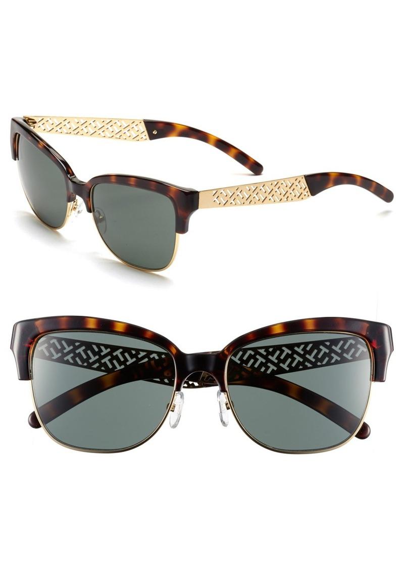 Tory Burch 56mm Cat-Eye Sunglasses