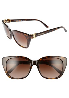 Tory Burch 56mm Cat Eye Sunglasses