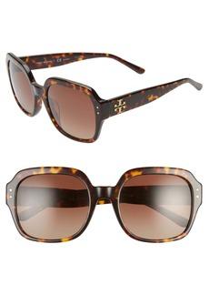 Tory Burch 56mm Square Sunglasses